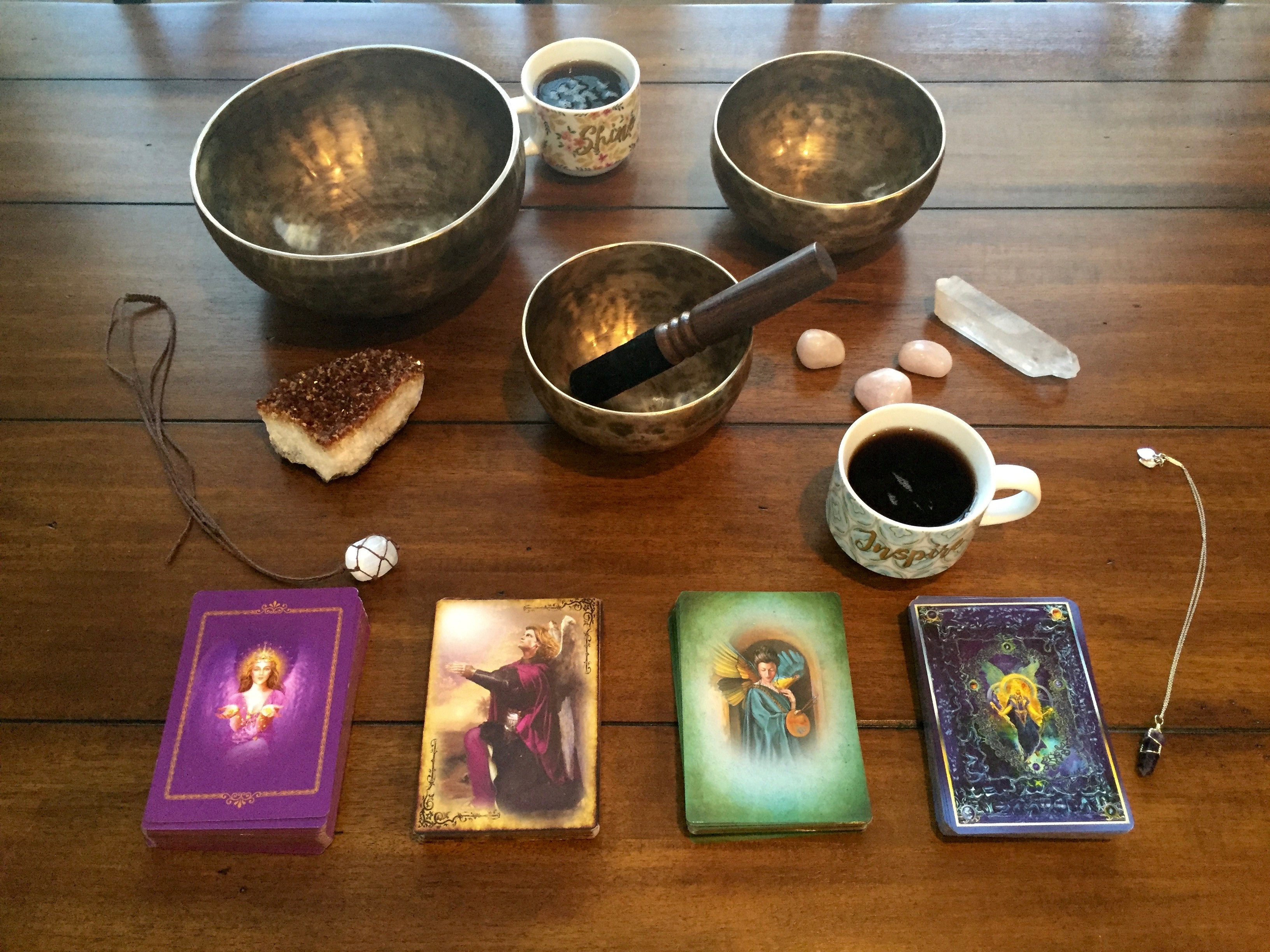 60 Minute Oracle Card Reading in Person