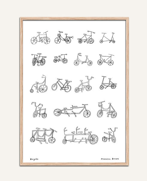 Bicycles from memory