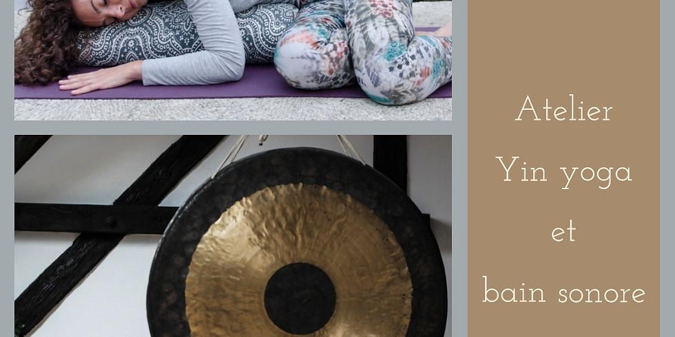 Atelier Yin yoga et Bain sonore - animé par Aude et Estelle