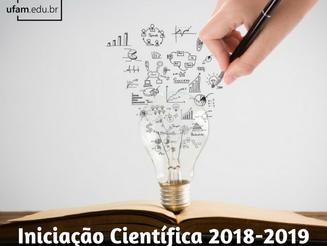 Propesp divulga edital de Iniciação Científica 2018-2019