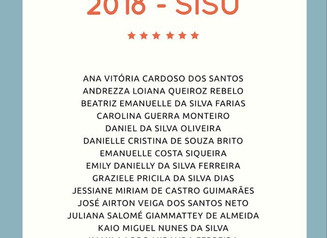 Aprovadxs 2018 - SiSU
