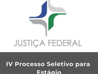Justiça Federal abre inscrições para processo seletivo de estágio