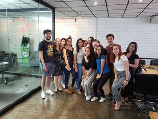 Alunos do 7º período fazem visita à agência Fermen.to