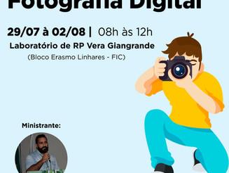 Curso de RP promove atividade de introdução à fotografia