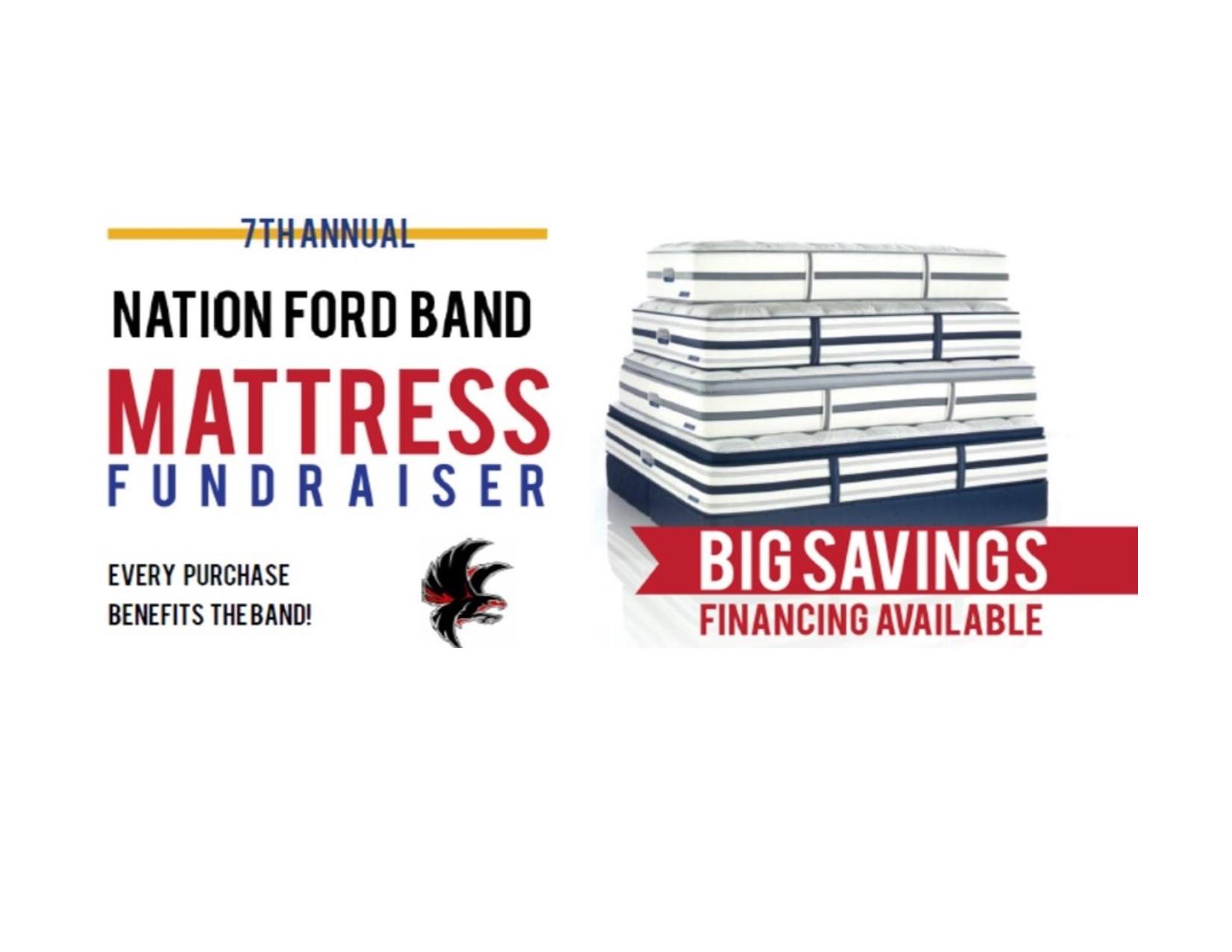 Mattress Fundraiser Banner