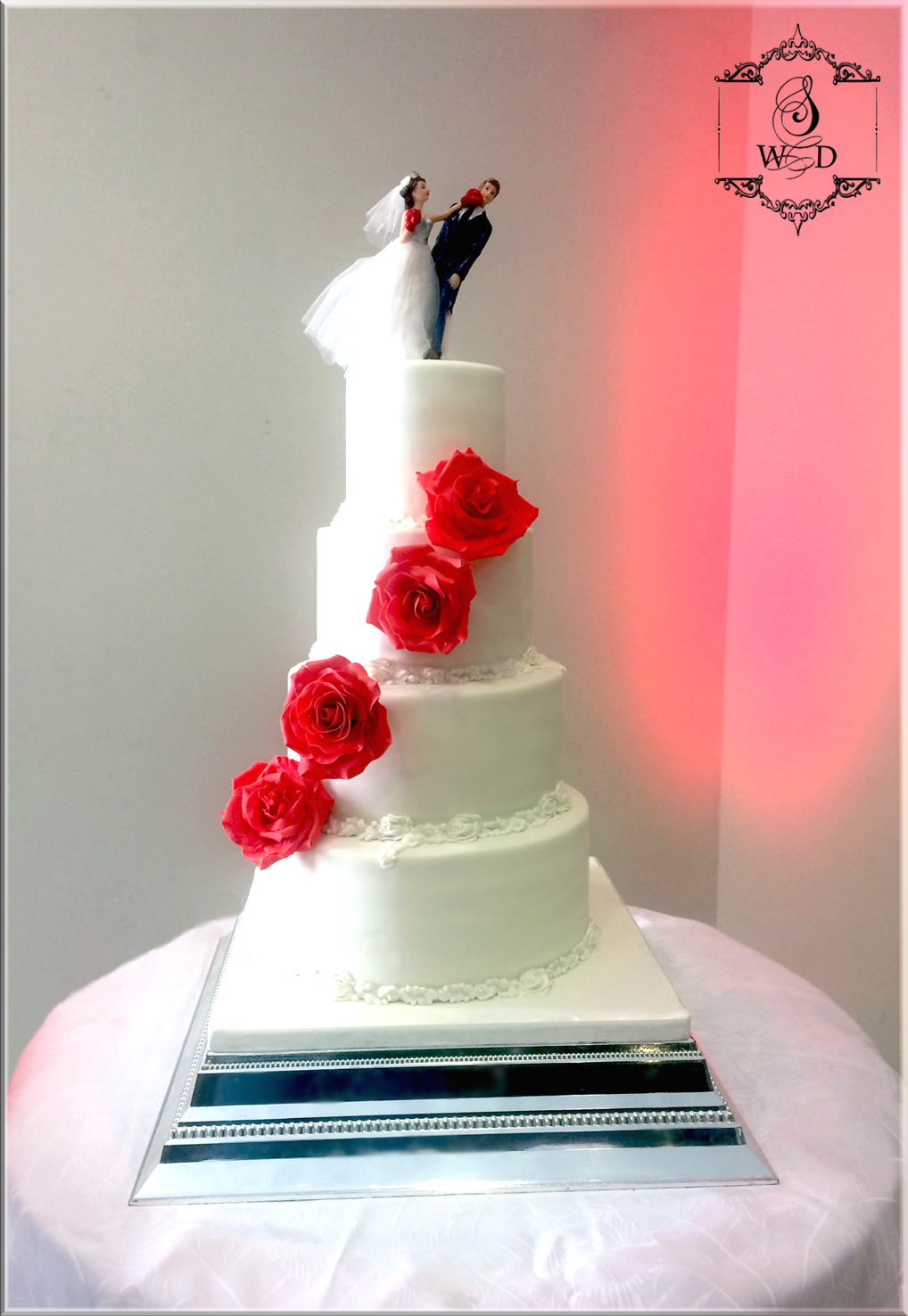 Mariage blanc et rouge