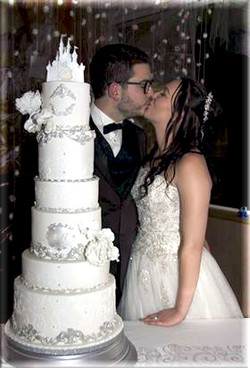 wedding cake princesse