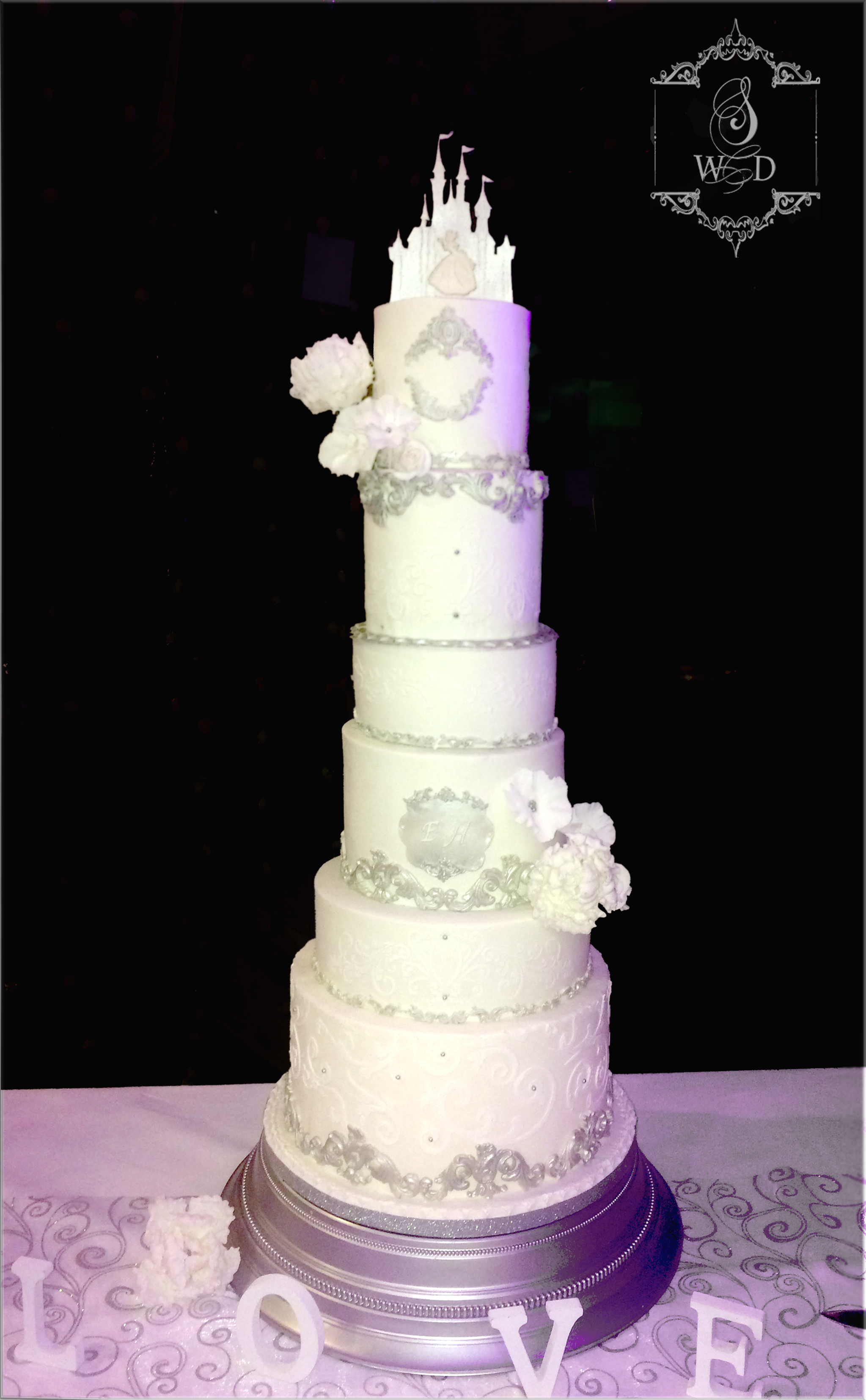 wedding cake de conte de fée