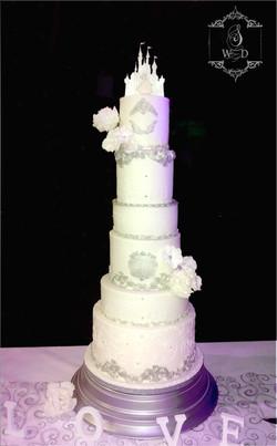 wedding cake de conte de fée