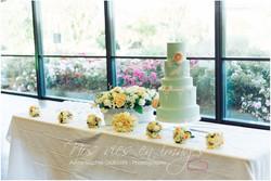 wedding cake pastel pivoine en sucre