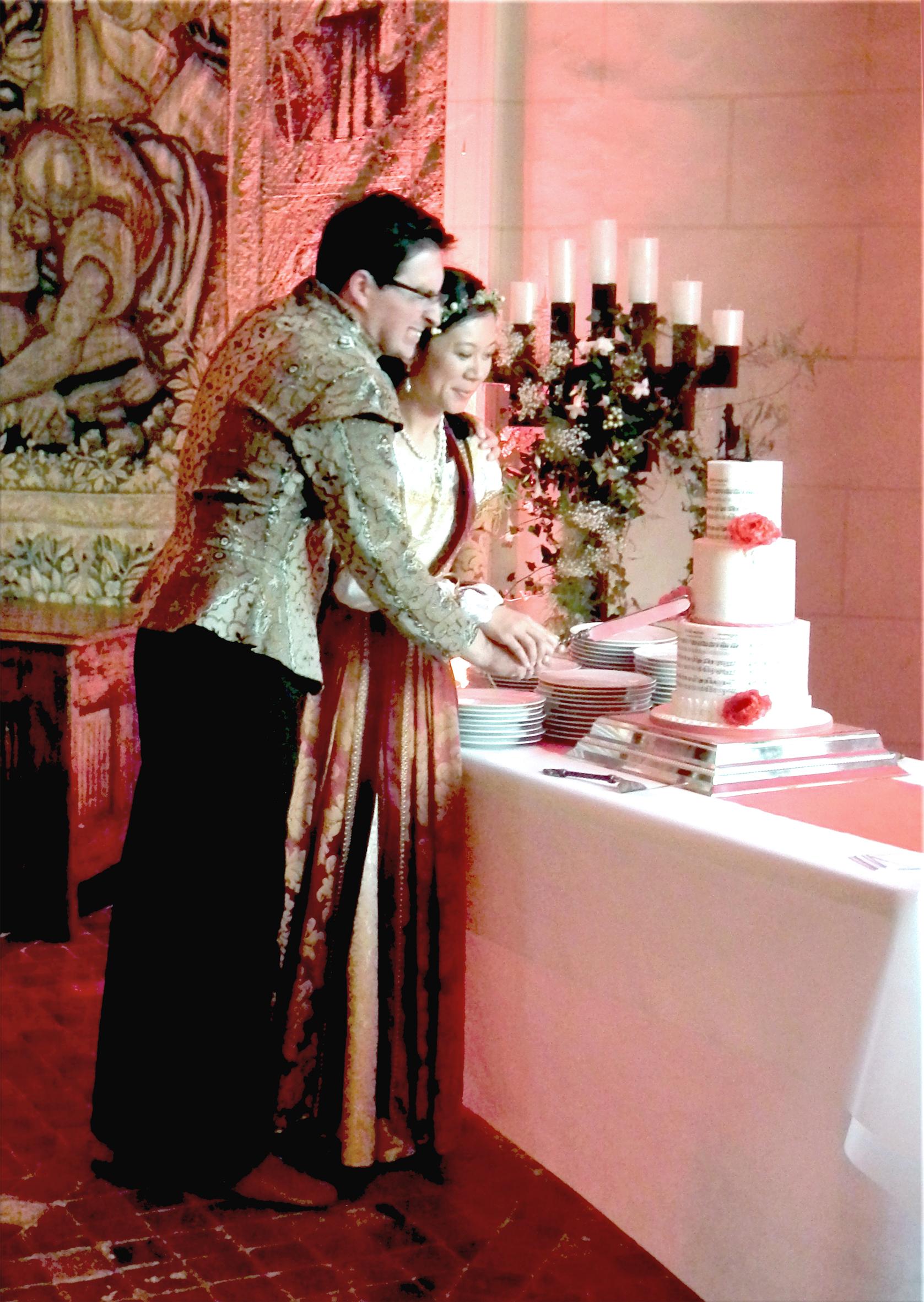 La coupe du gâteau