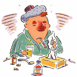 Expert tips - if you are a  Flu victim!