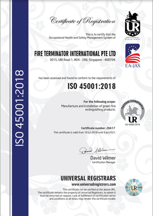 ISO 45001 : 2018