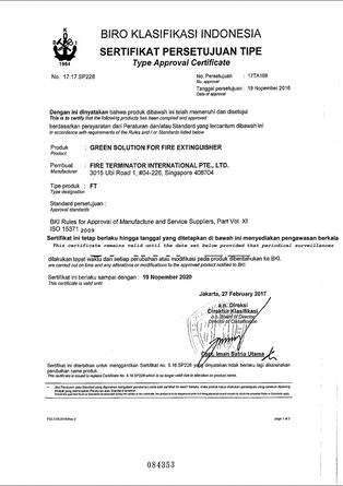 ISO 15371 : 2009 - BIRO KLASIFIKASI INDONESIA