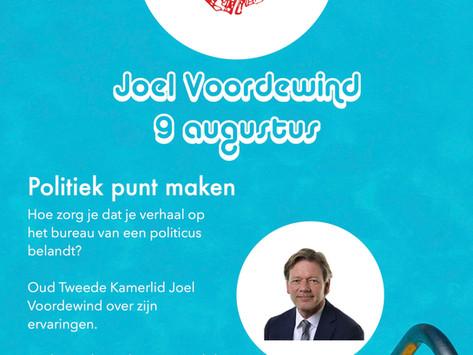 9 augustus: Joël Voordewind