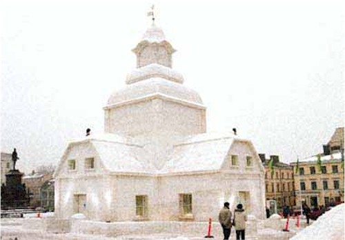 Snow church in Helsinki