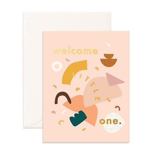 Welcome Little One (Shapes)