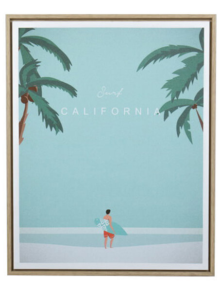 Surfing California