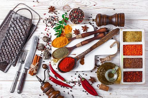 Savoir cuisiner les épices (en bref)