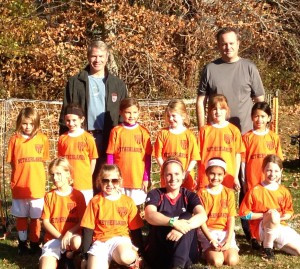 Claires Soccer Team2013