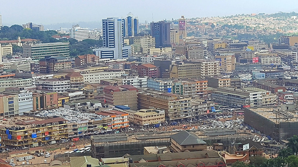 View of Kampala city