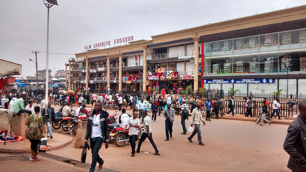 Kampala shopping district