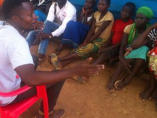 Life in a refugee camp in Uganda