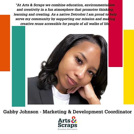 Gabby Johnson - Marketing Development Co