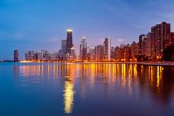 Chicago Skyline North Lakeshore