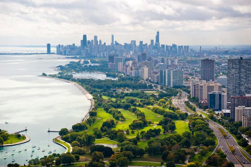 Aerial City Golf Course