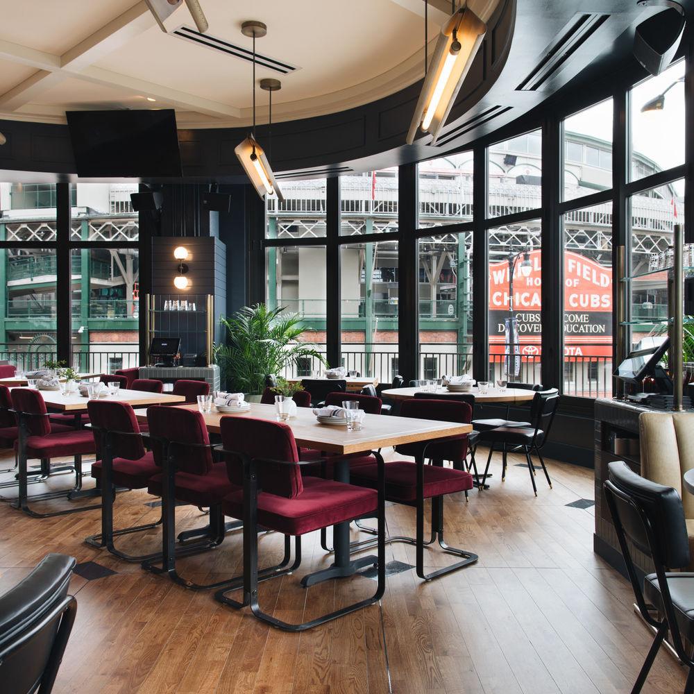 Interior of Swift & Sons Tavern