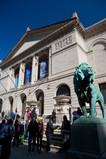 Art Institute Lion Statue at entrance