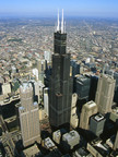 Willis Tower Aerial