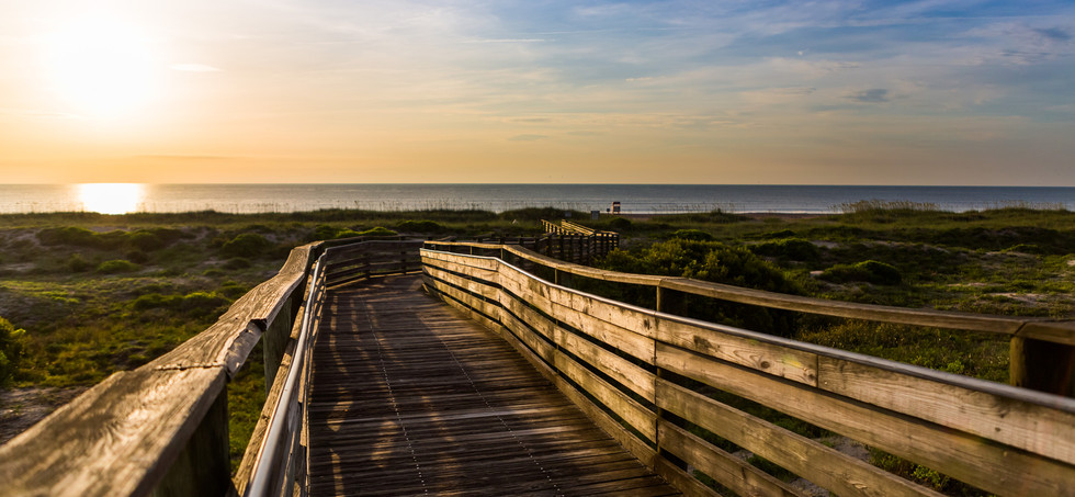 Amelia Island - 2014 Beach_boardwalk-Bur