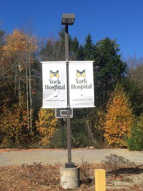 York Hospital Boulevard Banners