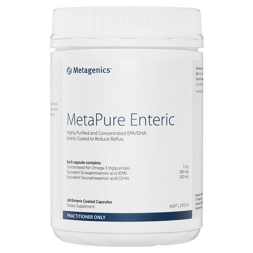 Metagenics MetaPure Enteric 120 caps Fish Oil Omega-3