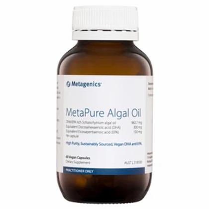 MetaPure Algal Oil 60 capsules