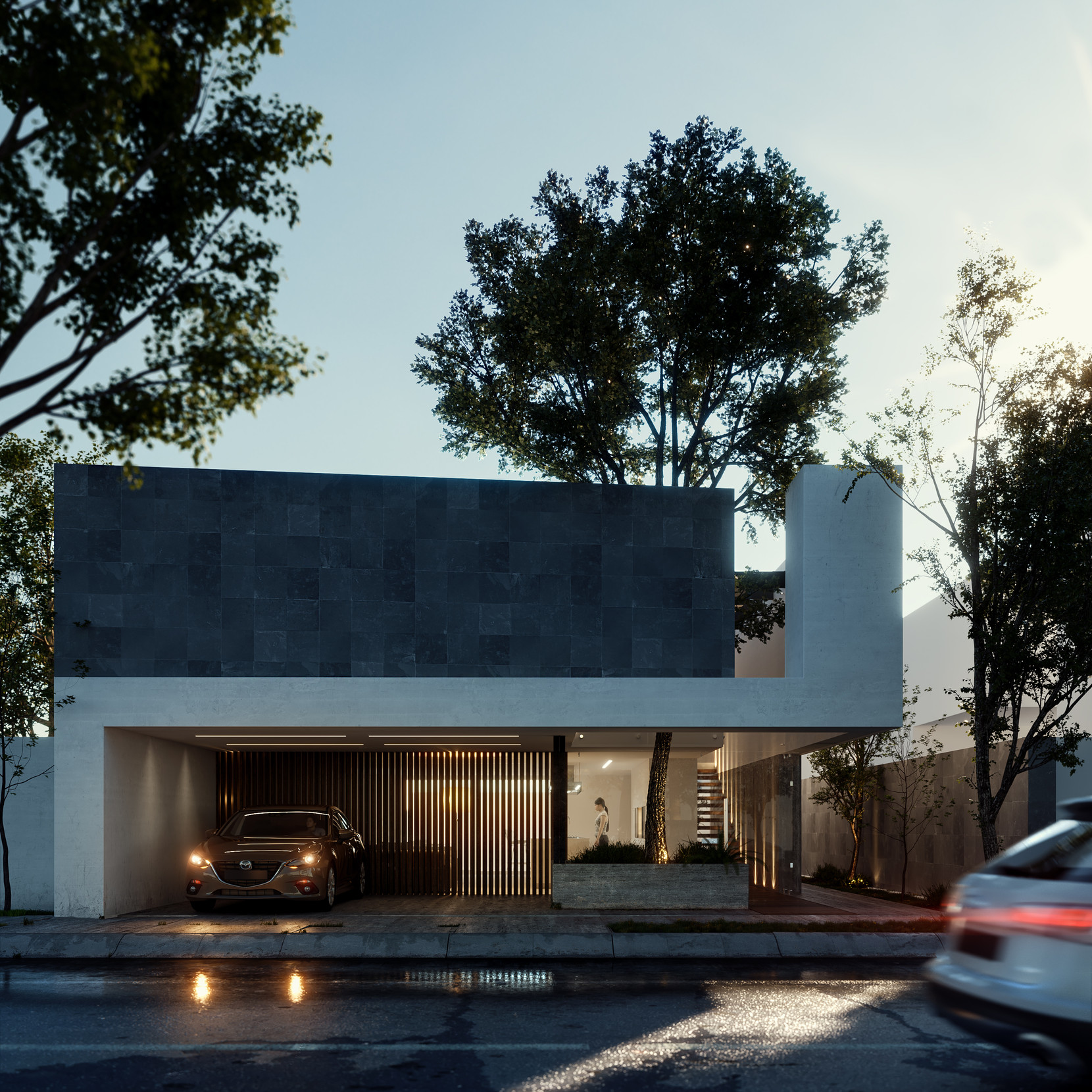 Casa lineal