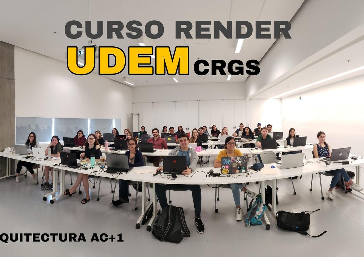 Curso Render MONTERREY