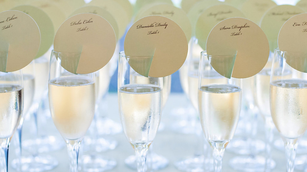 "3"" Circle Placecards"