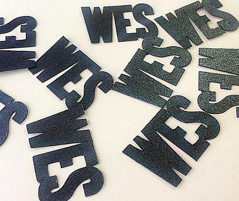 Personalized Name Confetti