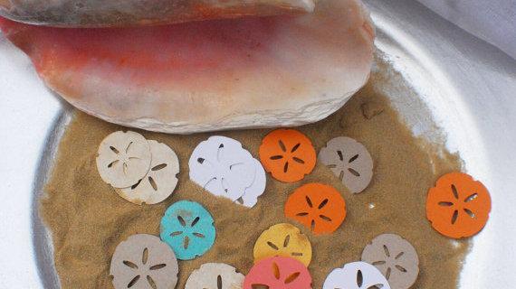Sand Dollar Confetti
