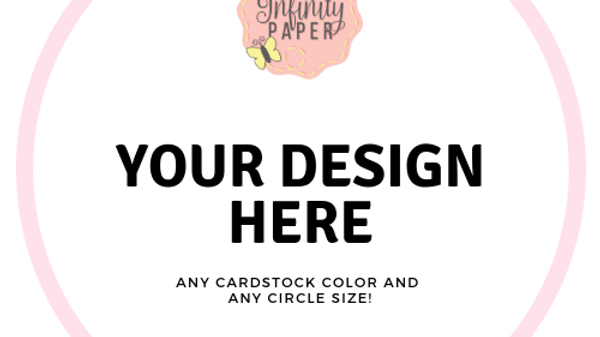 Design Your Own Menu/Thank You Charger Inserts