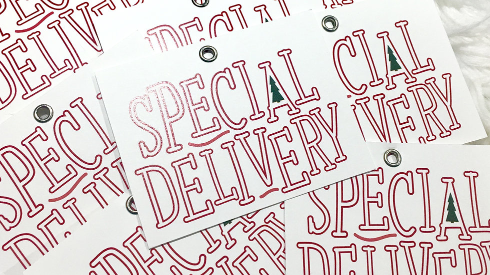 Special Delivery Tags