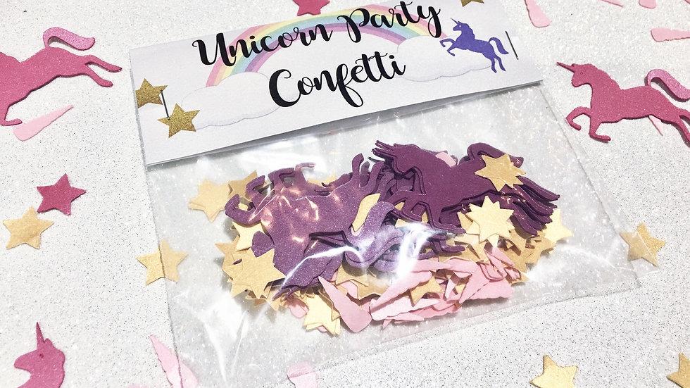 Unicorn Party Confetti