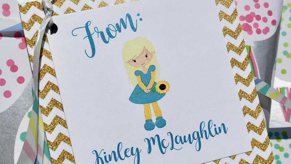 Personalized Gift Tags - Set of 12