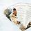 Thumbnail: Opulent Lace Collection Fan Programs, 4 Petals without Ribbon Detail