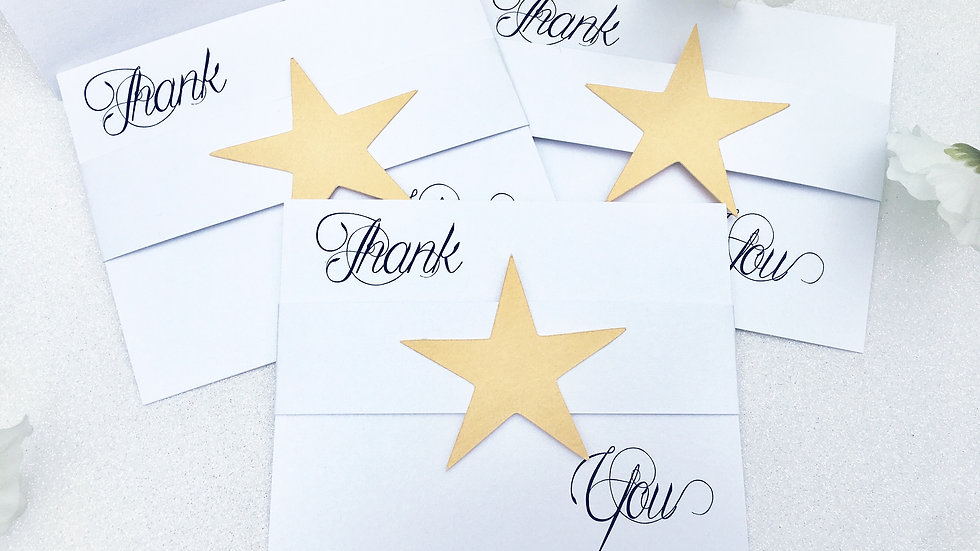You're A Star Thank You Cards