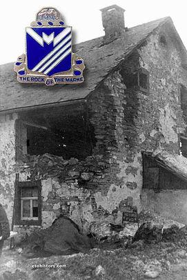 Nr. 63 Rocherath, Battle of the Bulge, 38th Infantry Regiment, 2nd Infantry Division