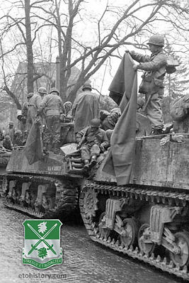 741st Tank Battalion, D-Day to VE-Day
